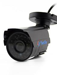 YanSe® 1100TVL 2.8mm Metal aluminum D/N CCTV Camera IR 24 LED Security Waterproof Wired 6624CQ