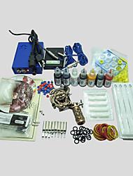 abordables -BaseKey Machine à tatouer Kit pour débutant, 1 pcs Machines de tatouage avec 7 x 20 ml encres de tatouage - 1 machine de tatouage x