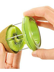 cheap -Novelty Kiwi Fruit Slicer Skinner Stripper Kiwi Fruit Divider Color Randomly