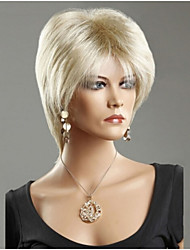 Europe And The United States The New  Ms Light Blonde Hair Wig