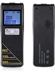 100 Metres Wireless Remote Control And Long Time Continuous Recording Digital Voice Recorder 16GB