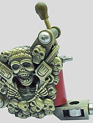 Недорогие -BaseKey Профессиональная машина для татуировки - 1 х резные татуировки для облицовки и затенение 1 pcs Сплав эмпастик