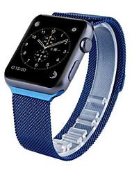 Недорогие -Ремешок для часов для Apple Watch Series 3 / 2 / 1 Apple Миланский ремешок Нержавеющая сталь Повязка на запястье