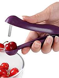 Cherry Pitter Olive Stoner Sell-corer Hand Held Seed Remover Cherries Tool Random Color