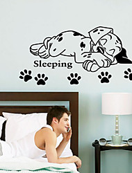 cheap -Animals Wall Stickers Animal Wall Stickers Decorative Wall Stickers, Manganese steel Vinyl Home Decoration Wall Decal Wall