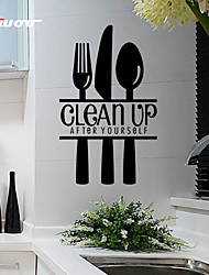cheap -New Pattern Clean Up Removable Waterproof Wall Sticker Home Decor Vinyl Wall Decal