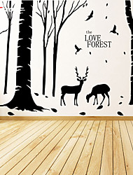 AWOO® New Design Pattern LOVE FOREST Wall Stickers Home Decor Vinyl  Stickers For Kids Room Decoration