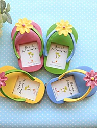 cheap -(Set Of 4)Beach Party theme Flip Flop Place Cards Wedding Favors