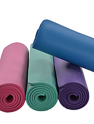 Недорогие -Коврик для йоги Без запаха, Экологичные, Липкий, Non Toxic НБР Водонепроницаемость, Non Slip Для Пилатес / Аэробика и фитнес / Бикрам-йога Пурпурный, Зеленый, Темно-лиловый: