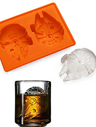 cheap -Licensed Millennium Falcon Silicone Ice or Chocolate Mould