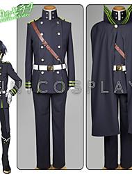 Inspirado por Caçador x Caçador Yui Anime Fantasias de Cosplay Ternos de Cosplay Cor Única Camisa Blusa Luvas Cinto Relógio ParaMasculino