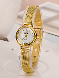 Diamond Women Quartz Watch with Alloy Band Cool Watches Unique Watches