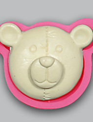 Bear clay mold Chocolate Candy Jello cake moulds for baking tools silicone soap mold kitchenware