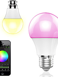 4.5w smart app kontrol trådløs bluetooth ledet rgb lampe / light 1pcs
