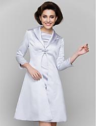 economico -cappotti / giacche da donna in raso per la cerimonia nuziale / per la sera. stile elegante