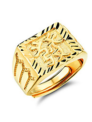cheap -Party / Casual Gold Plated / Alloy Ring