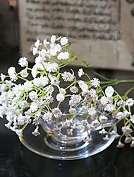 billige -1 Afdeling Silke Silika Gele Brudeslør Bordblomst Kunstige blomster