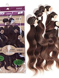 Недорогие -Бразильские волосы Естественные кудри 8A Человека ткет Волосы Ткет человеческих волос Расширения человеческих волос