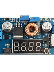 DC 5A LED Drive Lithium Battery Charger with Voltmeter Ammeter DC-DC Module