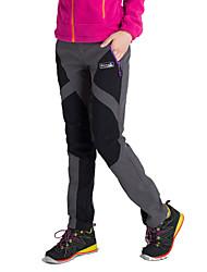 Per donna Pantaloni impermeabili Tenere al caldo Design anatomico Isolato Permeabile all'umidità Indossabile Traspirante Cerniera YKK