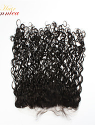 cheap -Curly Classic Full Lace Swiss Lace Human Hair Free Part Middle Part 3 Part High Quality Daily