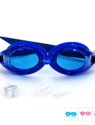 cheap -SUPER-K Swimming Goggles Anti-Fog Waterproof Adjustable Size Silica Gel PC Pink Blue Light Blue Pink Blue Light Blue