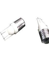 Недорогие -T10 Для кроссовера / Для автоматического транспортера / Для внедорожника Лампы 1 W SMD 5050 100 lm 10 Фары дневного света / Подсветка приборной доски / Подсветка для чтения Назначение