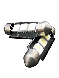 Недорогие -яркий легкость гирлянда автомобиль водить гирлянда интерьер автомобиля лампа привели автомобиль лампа для чтения гирлянда 36 мм 5050 3SMD