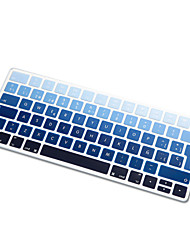cheap -Spanish Language Rainbow gradient Ultra Thin Silicone Keyboard Skin Cover for Magic Keyboard 2015 Version EU Layout