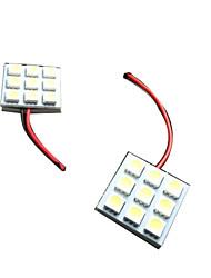 Недорогие -BA15S (1156) / 36mm / T10 Для кроссовера / Для автоматического транспортера / Для внедорожника Лампы 4.5 W SMD 5050 140 lm 9 Фары дневного света / Подсветка приборной доски / Подсветка для чтения