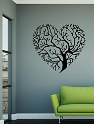 cheap -Wall Stickers Wall Decals Style Love Tree Fashion Creative Personality PVC Wall Stickers
