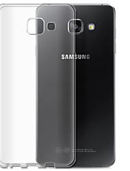 economico -Per Samsung Galaxy Custodia Transparente Custodia Custodia posteriore Custodia Tinta unita TPU SamsungA7(2016) / A5(2016) / A3(2016) / A9