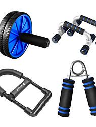 Недорогие -четыре комплекта питания shuangpai мужчин в животе wwheel / толкать вверх стойку / запястье сила / власть домой фитнес-оборудования