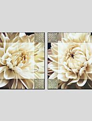 economico -Dipinta a mano Natura morta Modern Stile europeo Tela Hang-Dipinto ad olio Decorazioni per la casa Due Pannelli