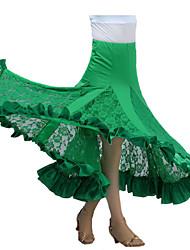 preiswerte -Für den Ballsaal Balletröckchen und Röcke Damen Leistung Milchfieber Drapiert Rock