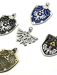 preiswerte -Schmuck Inspiriert von The Legend of Zelda Cosplay Anime/ Videospiel Cosplay Accessoires Halsketten Schwarz / Blau / Lila / Gold / Silber