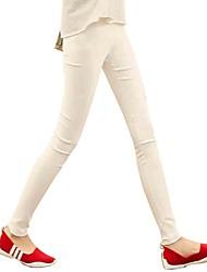 maigres couleurs de sucre des femmes contient le pantalon élastique
