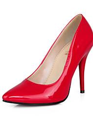 cheap -Women's Shoes PVC / Leatherette Stiletto Heel Heels Heels Wedding / Office & Career / Dress / CasualBlack / Blue