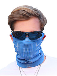 Bike/Cycling Face Mask/Mask Men's Sleeveless Breathable / Dust Proof Terylene Solid Red / Blue Free Size Cycling/BikeSpring / Autumn /