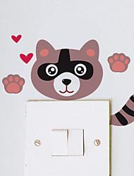 baratos -Paisagem Animais Romance Quadro-negro Moda Formas Feriado Desenho Animado Fantasia Adesivos de Parede Autocolantes de Aviões para Parede
