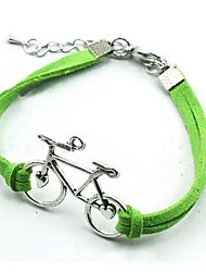 cheap -Korean Lovely Bicycle Woven Handmade Diy Bracelet Christmas Gifts