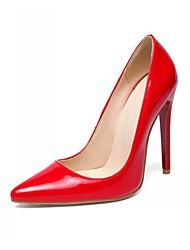 cheap -Women's Shoes Synthetic / Leatherette Stiletto Heel Heels / Basic Pump / Pointed Toe Heels Wedding / Office & Career