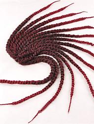 baratos -erro Box Tranças Tranças torção Extensões de cabelo 12inc Kanikalon 12/1 costa 70g grama Tranças de cabelo