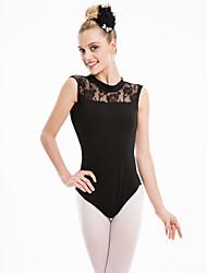 cheap -Ballet Leotards Women's Training / Performance Cotton / Lace / Lycra Leotard / Onesie