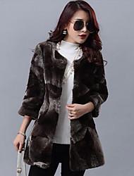 cheap -Women Lamb Fur Outerwear , Lined