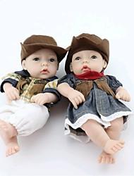 npkdoll возрождается кукла ребенка жесткий силикон 11inch 28см водонепроницаемая игрушка свитер мальчик и девочка