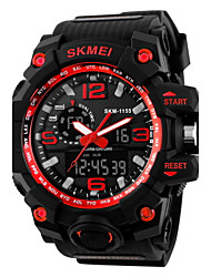 cheap -SKMEI® Super Shock Fashion Double Movement Rubber Band Sports Watch Cool Watch Unique Watch