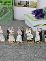 economico -Decorazioni torte Spiaggia Giardino Orientale Floreale Classico Coppia classica Resina Matrimonio Addio al nubilato Con Confezione regalo