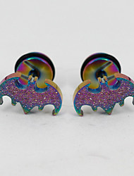 cheap -Men's Women's Stud Earrings Stainless Steel Jewelry For Daily Casual Sports