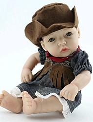 npkdoll возрождается ребенка кукла жесткий силикон 11inch 28см водонепроницаемая игрушка пастушка девушка